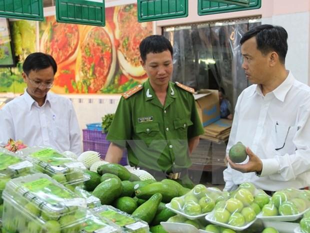 2017年越南APEC会议:广南省加大食品安全检查力度 hinh anh 1