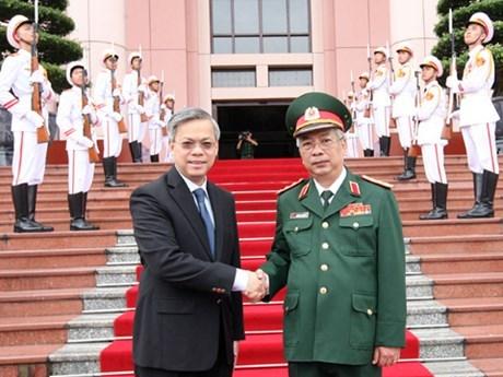 第八次越南-新加坡防务政策对话在河内举行 hinh anh 1