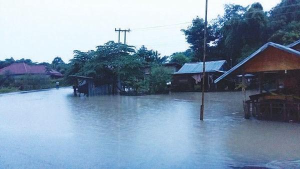 旅居老挝越侨捐款帮助老挝台风受灾灾民 hinh anh 3