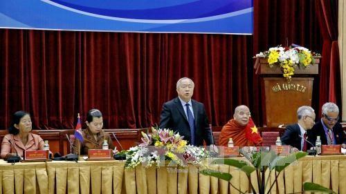 大力促进越柬两国人民友好合作关系 hinh anh 1