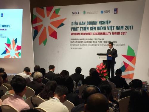 越南强调了将坚持走绿色发展道路的视野与决心 hinh anh 1