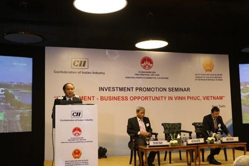 印度投资者关注了解越南永福省营商环境 hinh anh 1