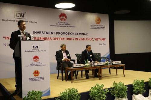 印度投资者关注了解越南永福省营商环境 hinh anh 2