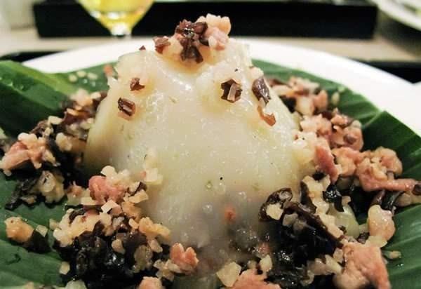越南美食:河内米粉粽 hinh anh 1