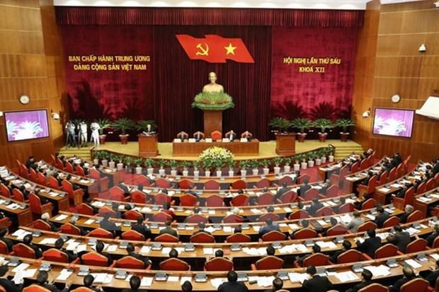 按照越共十二届六中全会精神革新社会团体组织机构 hinh anh 1