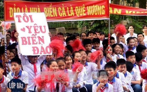 """越南富寿省举行""""越南海洋和海岛""""知识竞赛 hinh anh 3"""