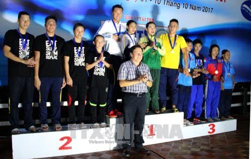 2017年国家游泳和潜水锦标赛正式落幕 hinh anh 1