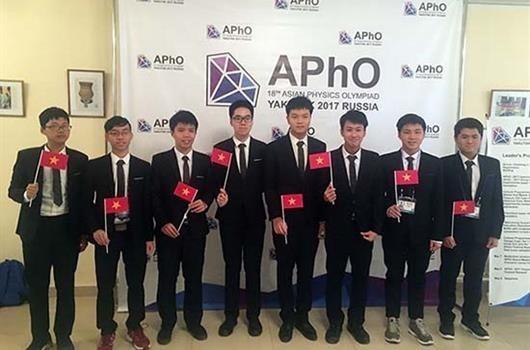 越南将承办2018年第十九届亚洲物理奥林匹克竞赛 hinh anh 1