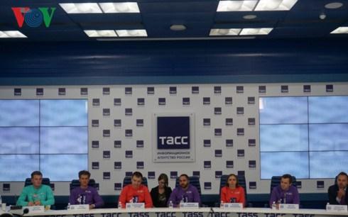越南代表团赴俄出席第十九届世界青年联欢节 hinh anh 1