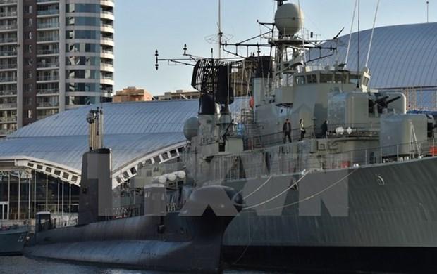 澳大利亚海军军舰访问菲律宾 hinh anh 1