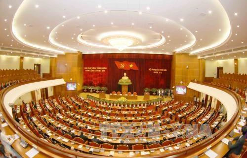 越共第十二届中央委员会第六次全体会议在河内圆满闭幕 hinh anh 2