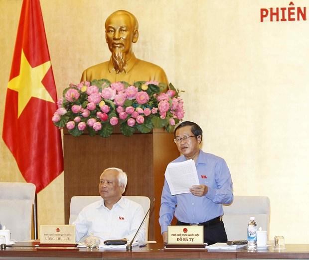 第十四届国会常委会第15次会议:2017年GDP预计增长6.7% hinh anh 1