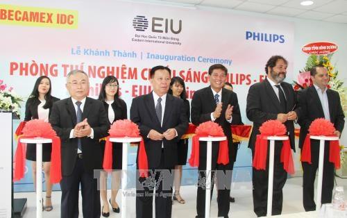 越南最先进的照明实验室在平阳省落成 hinh anh 1