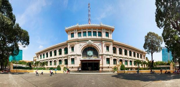 胡志明市的特殊建筑工程——西贡中心邮局 hinh anh 1