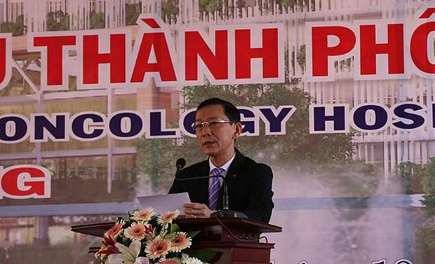 越南九龙江平原最具规模的肿瘤医院动工兴建 hinh anh 1