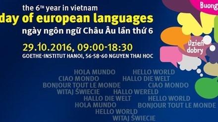 越南举行第七届欧洲语言日 hinh anh 1