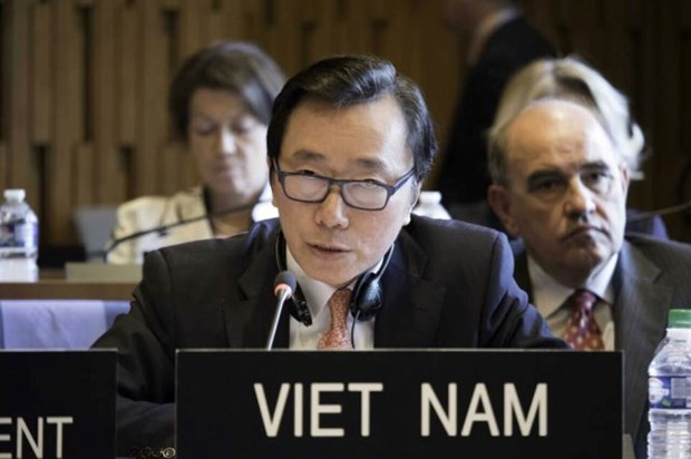 联合国教科文组织总干事第三轮投票:越南候选人退出选举 hinh anh 1