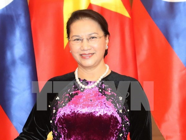 国会主席阮氏金银出席第137届各国议会联盟大会:发挥议会外交的作用 hinh anh 1
