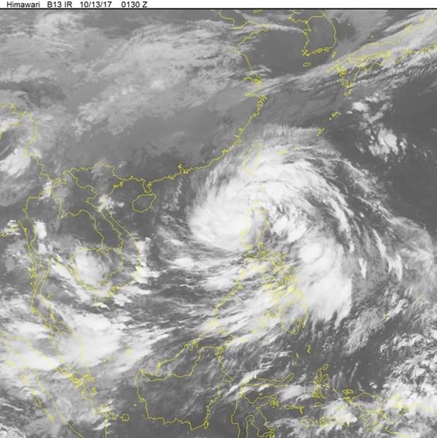 越南主动应对第11号台风 hinh anh 1