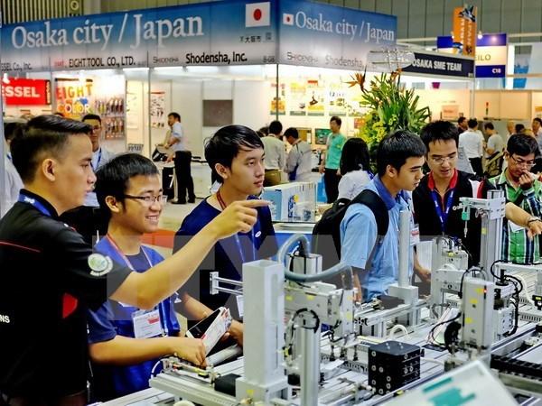 2017年越南国际机床和金属加工机械展在胡志明市举行 500个品牌参展 hinh anh 1