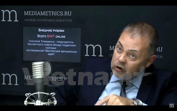 俄罗斯专家:越南为扩大亚欧经济联盟对东南亚国家的影响力作出贡献 hinh anh 1