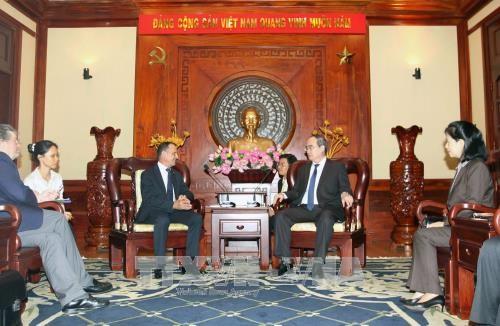 胡志明市与法国加强交通与城市发展领域的合作 hinh anh 1