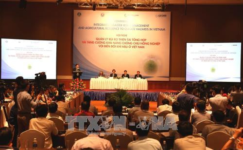 越南鼓励企业和社会群体加大对防灾减灾的投入 hinh anh 1