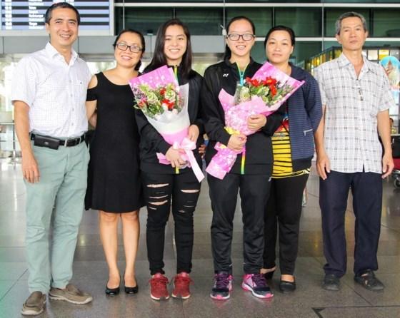 越南羽毛球小将获得亚洲铜牌 hinh anh 1
