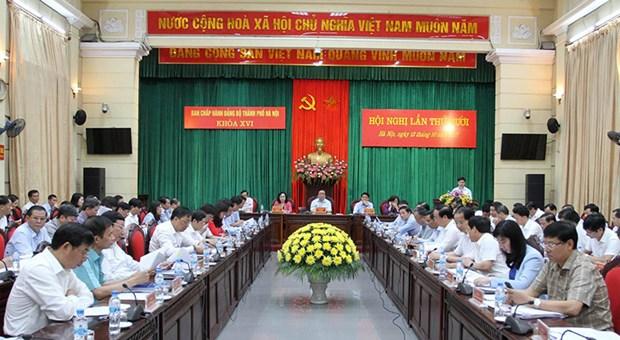 2017年前9月河内市经济社会保持平稳健康发展 hinh anh 1