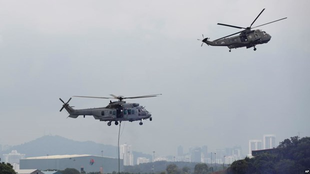 马菲印尼三国启动联合空中巡逻 应对恐怖主义威胁 hinh anh 1