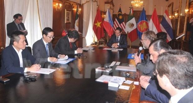 东盟与墨西哥加强合作关系 hinh anh 1