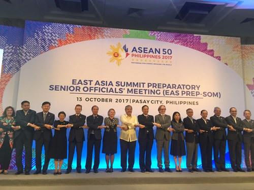 东盟联合磋商会在马尼拉举行 为第31届东盟峰会做准备 hinh anh 1