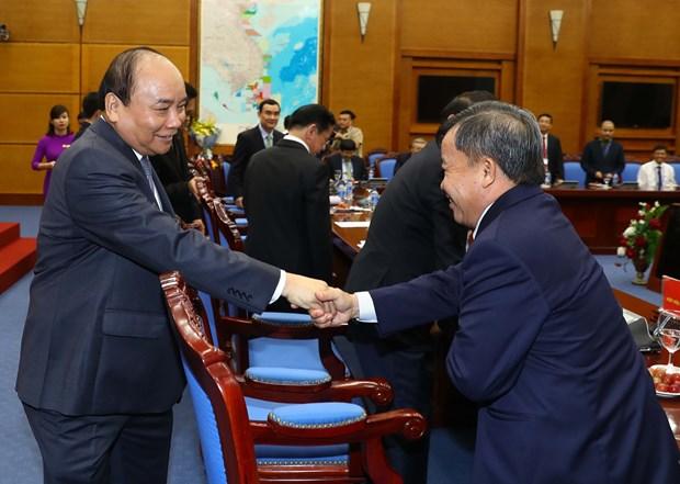 越南政府总理阮春福:企业将继续受政府推崇和保护 hinh anh 3