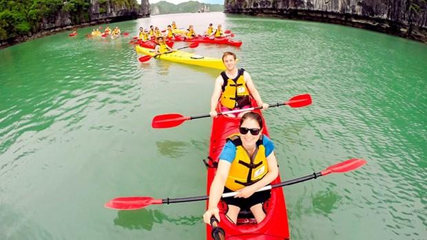 营造文明旅游服务环境 吸引更多游客赴下龙湾参观 hinh anh 1
