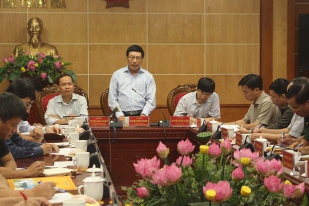 政府副总理范平明视察清化省灾后恢复重建工作 hinh anh 1
