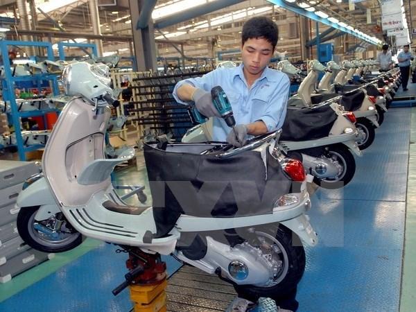 今年前三个季度越南摩托车销售量达近237.3万辆 hinh anh 1