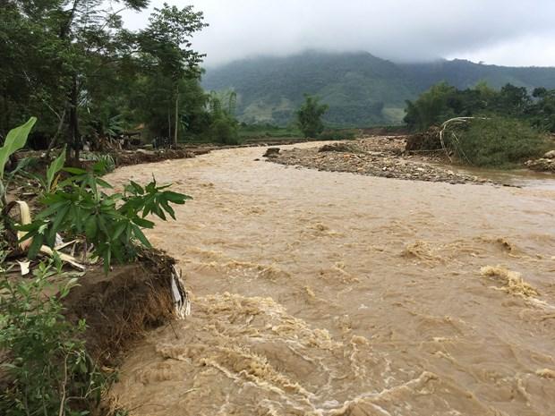 安沛省:洪水致28人死亡和失踪 hinh anh 1