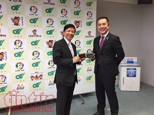 越南与日本各地方加强合作 hinh anh 1