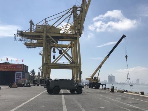 岘港沙码港二期工程于11月正式投入运营 hinh anh 2