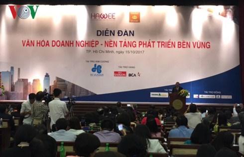 政府副总理张和平:企业文化是品牌的灵魂 hinh anh 1