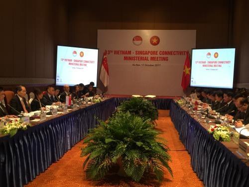 越新经济对接第13次部长级会议在河内召开 hinh anh 1