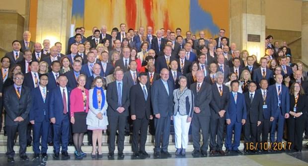 越南出席第十二届亚欧海关署长会议 hinh anh 1