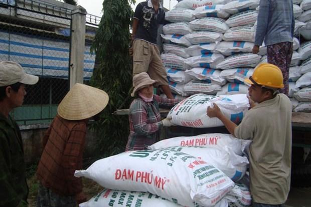 每年越南肥料出口量约达800万吨 hinh anh 1