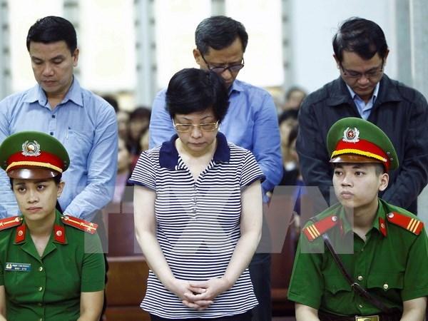 被告人周氏秋娥被判处终身监禁 hinh anh 1