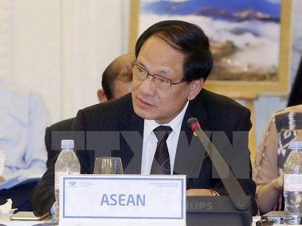 东盟加强与欧盟贸易投资合作 hinh anh 1