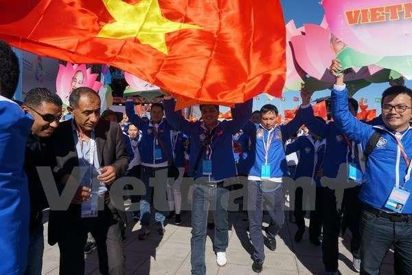 """第十九届世界青年大学生联欢节:""""越南角""""正式亮相 hinh anh 1"""