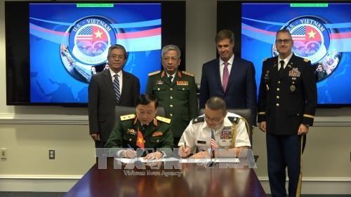 阮志咏上将:失踪军人遗骸搜寻活动是越美防务合作中的亮点 hinh anh 2