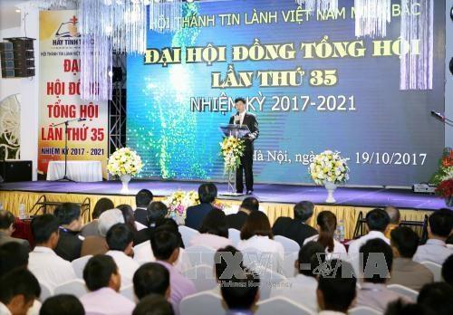 越南北方福音教会总联合会召开第35次大会 hinh anh 1