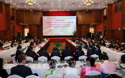 越南妇女积极参与预防自然灾害和应对气候变化工作 hinh anh 1