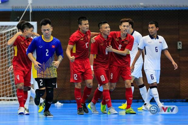 2017年东南亚五人制足球锦标赛:越南队力争晋级决赛 hinh anh 1